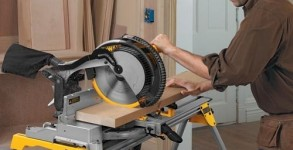 DEWALT DW715 15-Amp 12-Inch Compound Miter saw featured